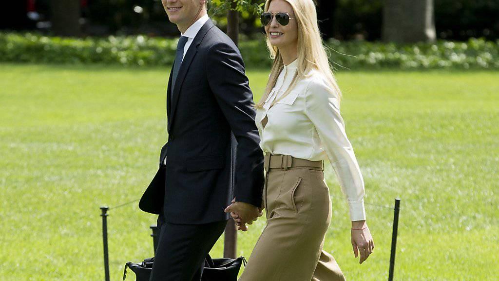 Ivanka Trump und ihr Ehemann Jared Kushner (Archivbild)