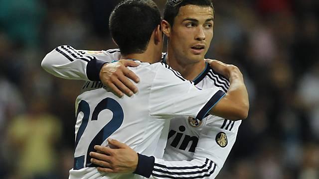 Angel Di Maria und Cristiano Ronaldo erzielten vier der fünf Treffer.