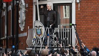 Wikileaks-Gründers Julian Assange sitzt seit fast sechs Jahren im ecuadorianischen Botschaftsasyl in London fest. (Archivbild)