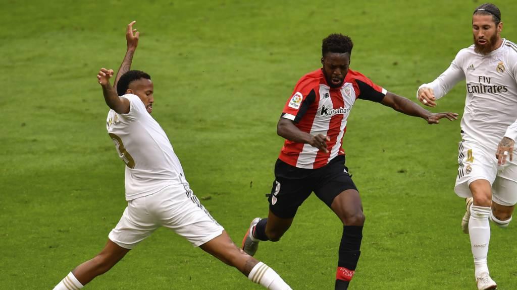 Real wieder dank Ramos-Penalty