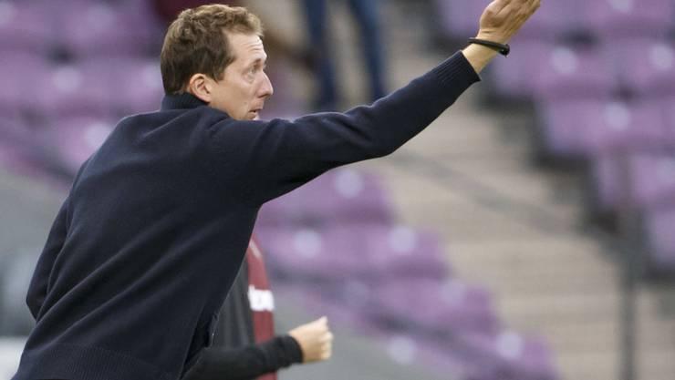 Wil-Coach Konrad Fünfstück beweist gegen Chiasso ein geschicktes Händchen