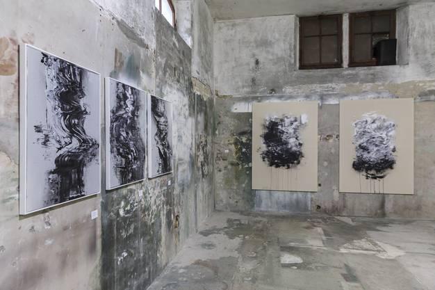 Ausstellung in der Alten Brennerei. primeart 2019: David Stegmann