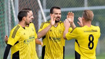 Der FC Dulliken hat Grund zum Jubeln.