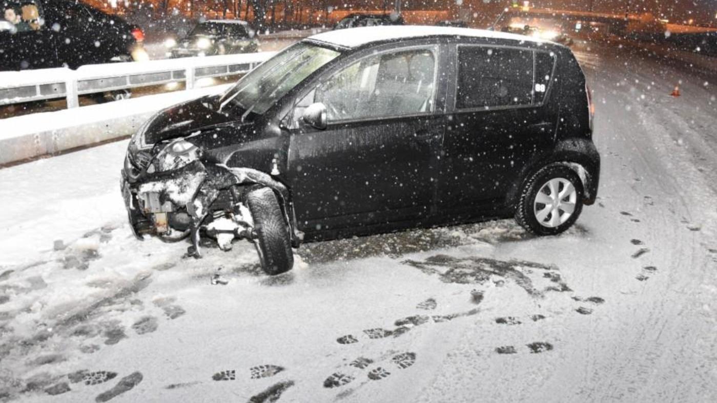 In den letzten Tagen kam es wegen dem Schnee zu zahlreichen Unfällen.