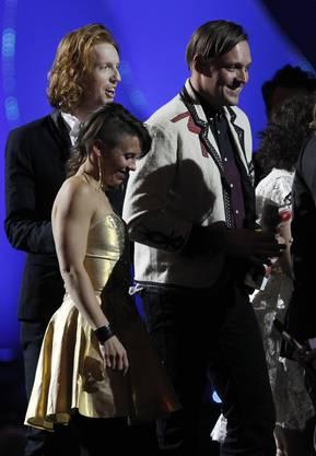 Die Auszeichnung für das Beste Internationale Album ging an die kanadische Indie-Rock Band Arcade Fire für ihre Platte «The Suburbs».
