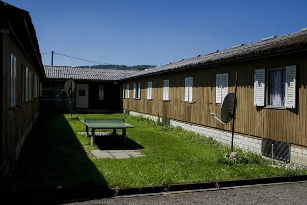 Übertag: Asylunterkunft auf dem Zürcher Juch-Areal