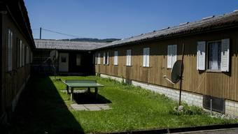 Asylunterkunft auf dem Zürcher Juch-Areal