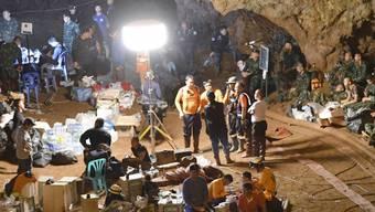 Der ehemalige Navy Seal hatte Sauerstoffbehälter in der Höhle platziert. Auf dem Rückweg verlor er das Bewusstsein.