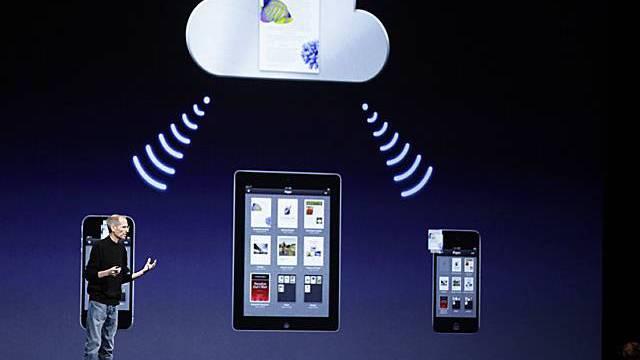 Steve Jobs erläutert iCloud
