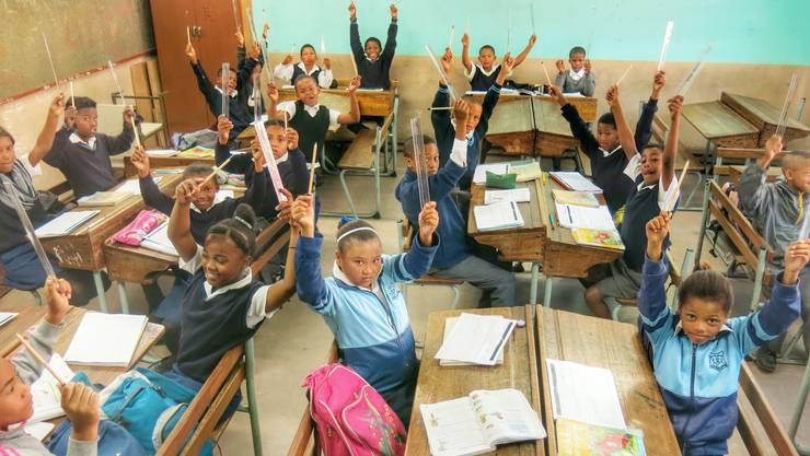 Bewegung tut auch im Mathematik-Unterricht gut und hilft bei der Konzentration.