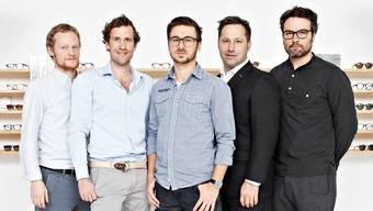 Das VIU-Team um Kilian Wagner (Zweiter von links).