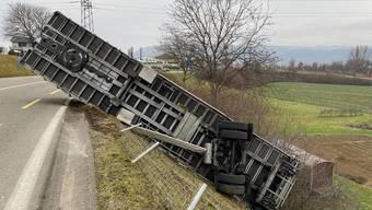 Die Unfallursache ist derzeit unklar.
