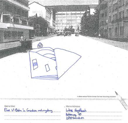 Lukas Hegelbach wünscht sich eine U-Bahn-Station
