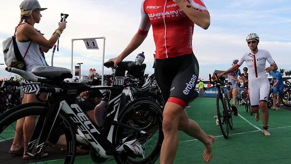 Daniela Ryf kann an der Ironman-WM auf Hawaii den dritten Sieg in Serie realisieren