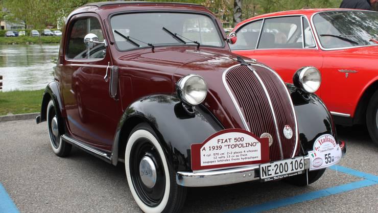 Ein Fiat Topolino 500A (1939)