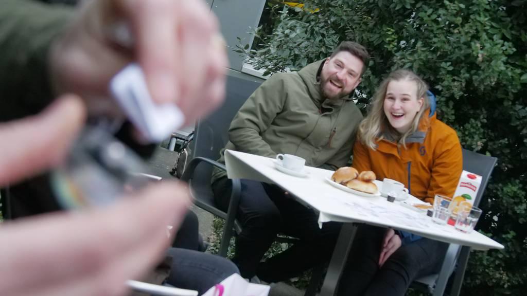 Gewinnerpaar Sarah und Kevin aus Dagmersellen