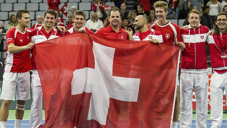 Betroffen von einem grossflächigen Wandel: Das Schweizer Davis-Cup-Team