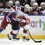 Nico Hischier von den New Jersey Devils gehört zu den vier Schweizern, für welche die NHL-Saison zu Ende ist