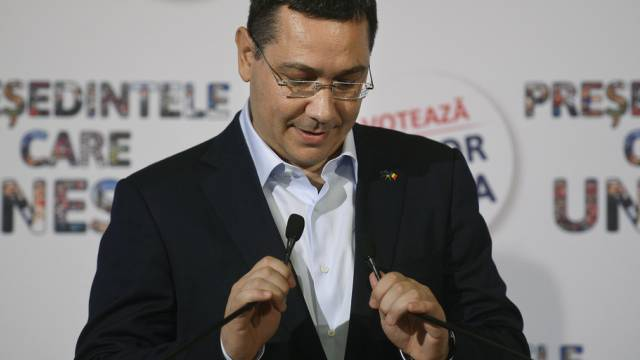 Rumäniens Ministerpräsident Victor Ponta (Archiv)