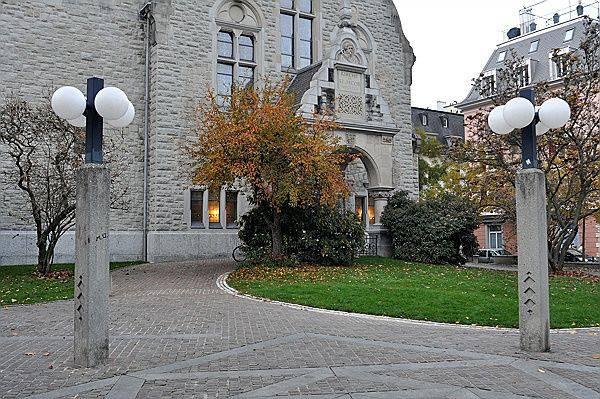 Citykirche: Hier wurde der 41-jährige Mann verprügelt.