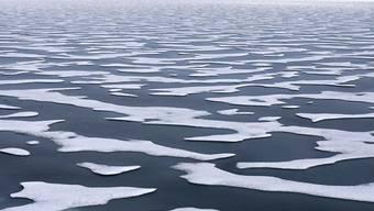 Ein immer grösserer Anteil des Meereises schmilzt auf dem Weg von der russischen Küste in die zentrale Arktis. (Archivbild)
