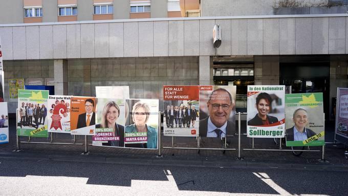 Wahlplakate (Symbolbild)