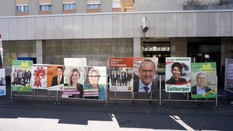 «Wollen nicht das ganze Baselbiet verschandeln»: Wahlplakate wie hier an der Hauptstrasse in Birsfelden wird es von der EVP Baselland wiederum keine geben.