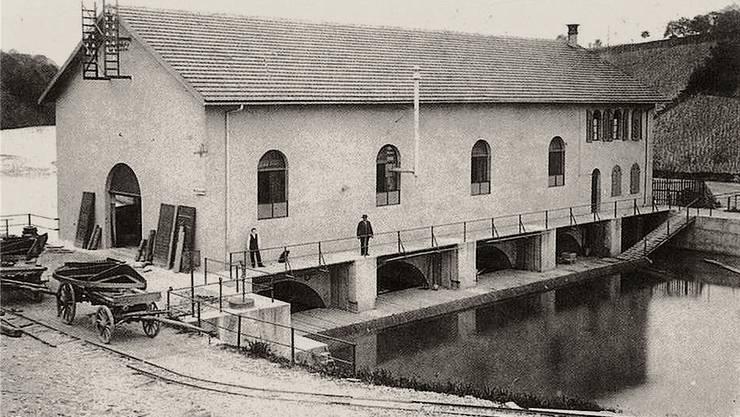 Im Jahre 1893 wird das Kraftwerk Kappelerhof nach einem Probelauf im 1892 in Betrieb genommen. Regionalwerke Baden