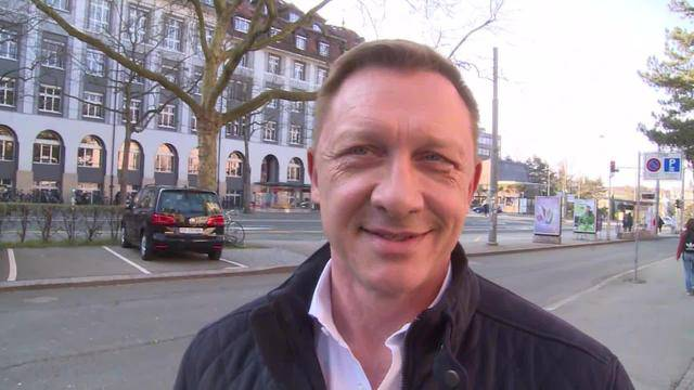 Daniel Craig zu Besuch in Bern