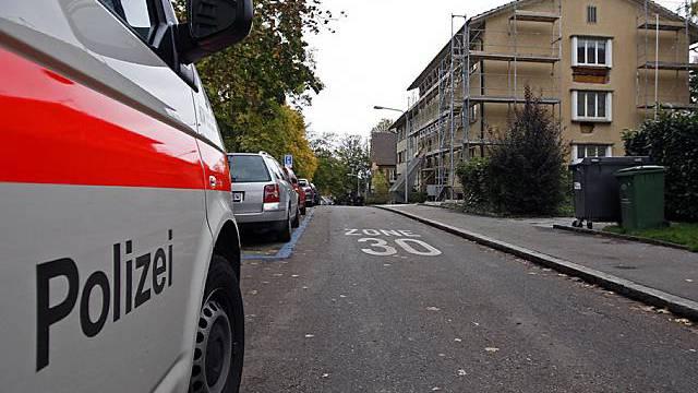 Tatort der Schiesserei in Zürich-Oerlikon (Archiv)