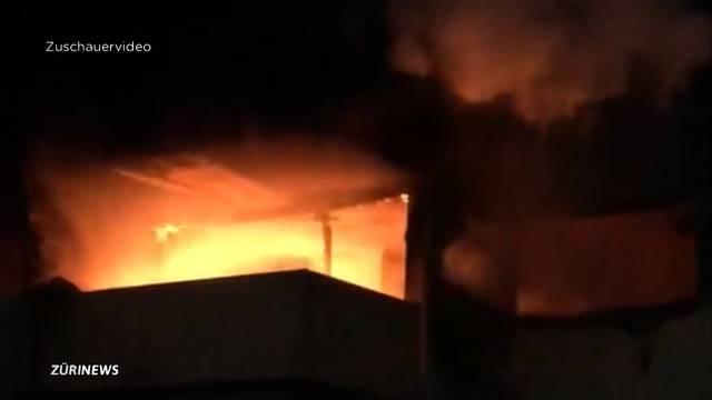Hausbrand wegen iPhone