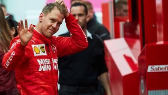 Sebastian Vettel will mit Ferrari 2019 zurück auf den WM-Thron