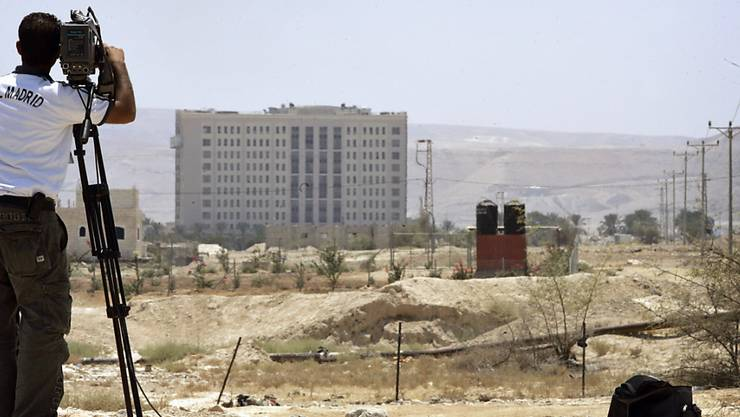 Geste von Israel: Nach jahrelanger Blockade dürfen Postsendungen an Palästina ausgeliefert werden, die in Jericho tonnenweise lagern. (Archivbild Jericho)