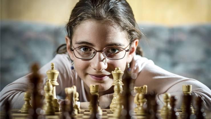 Die Erlinsbacherin Gohar Tamrazyan hat schon viele Schachturniere gewonnen. Auch die Schweizermeisterschaften in der Kategorie U10 vor einem Jahr.
