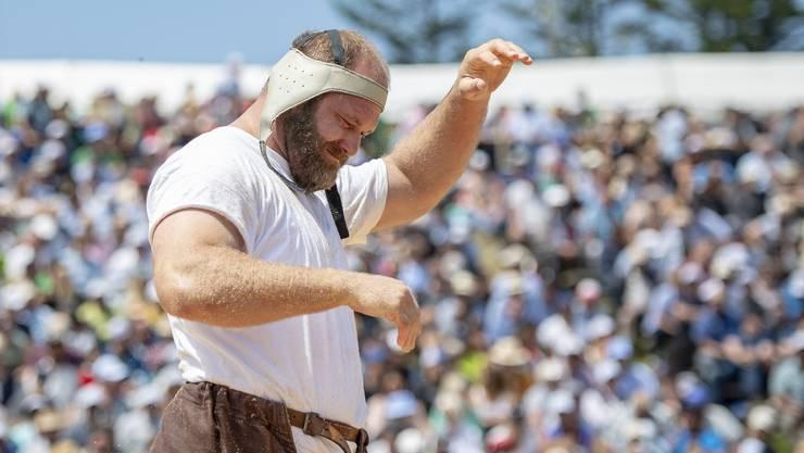 Zweiter Bergkranzfestsieg der Karriere: .Benji von Ah.