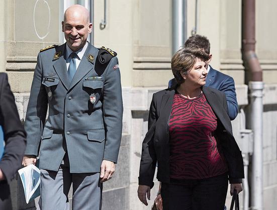 Hofft auf Schub für die Kampfjets: CVP-Bundesrätin Viola Amherd.