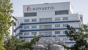Das Novartis-Werk in Stein.