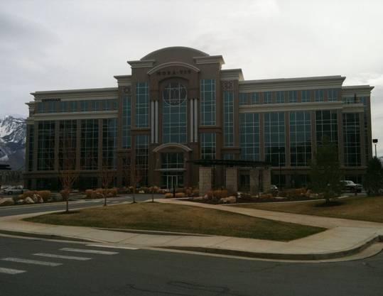 Der Hauptsitz von Monavie in Utah, USA.
