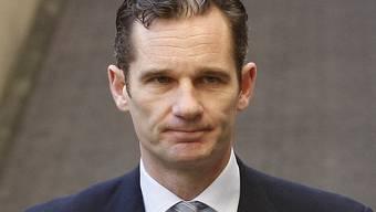 Der Schwiegersohn von König Juan Carlos, Iñaki Urdangarín, will sich mit der Justiz einigen (Archiv)