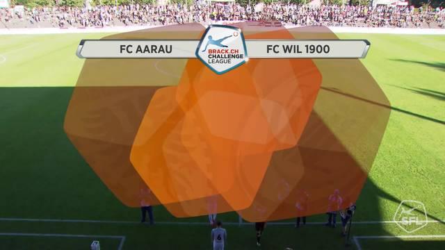 Aarau - Wil, ganzes Spiel, 300717