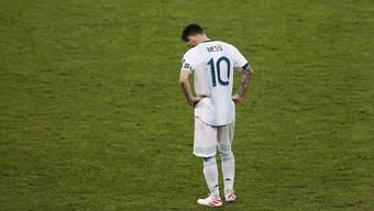 Der Fussballstar Lionel Messi ist wegen seinen Äusserungen zur Korruption im Fussball sanktioniert worden. (Archivbild)