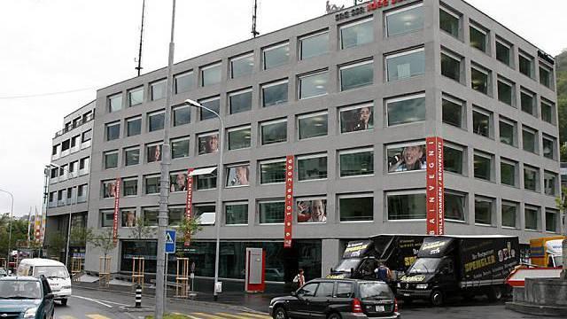 Das Medienhaus in Chur (Archiv)