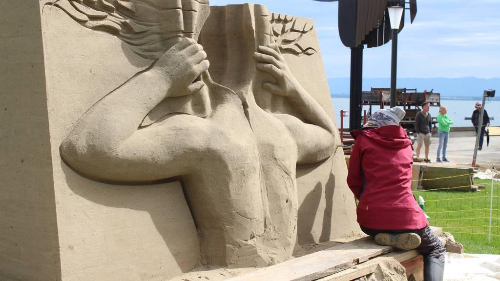 Toggenburger Sand rettet Sandskulpturen Festival
