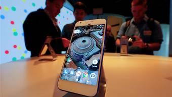 Google ist ein grosser Player in der Weltwirtschaft; nun mischen sie auch im Smartphone-Markt mit. key