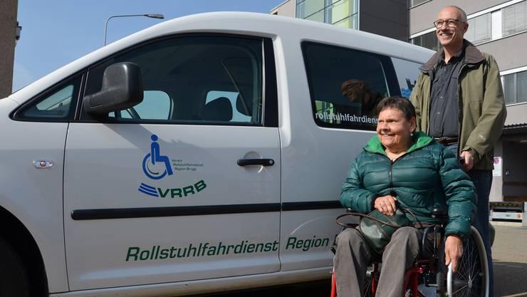 Marcel Hartmeier hat eine Kundin aus Wildegg nach Dietikon gefahren. Das macht er meistens etwa einmal pro Woche.
