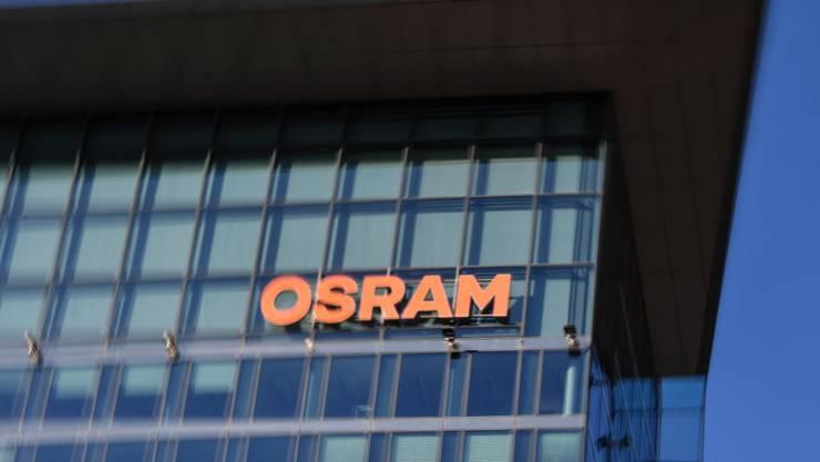 Der Endspurt für AMS bei der Osram-Übernahme wird knapp. (Archiv)