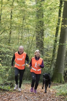 Der Lauftreff ist eine gute Möglichkeit, an der frischen Luft Sport zu treiben.