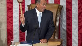 Boehner drittes Mal zum Sprecher der Abgeordnetenkammer gewählt