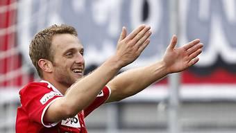Christian Schneuwly sicherte Thun im Letzigrund einen Punkt