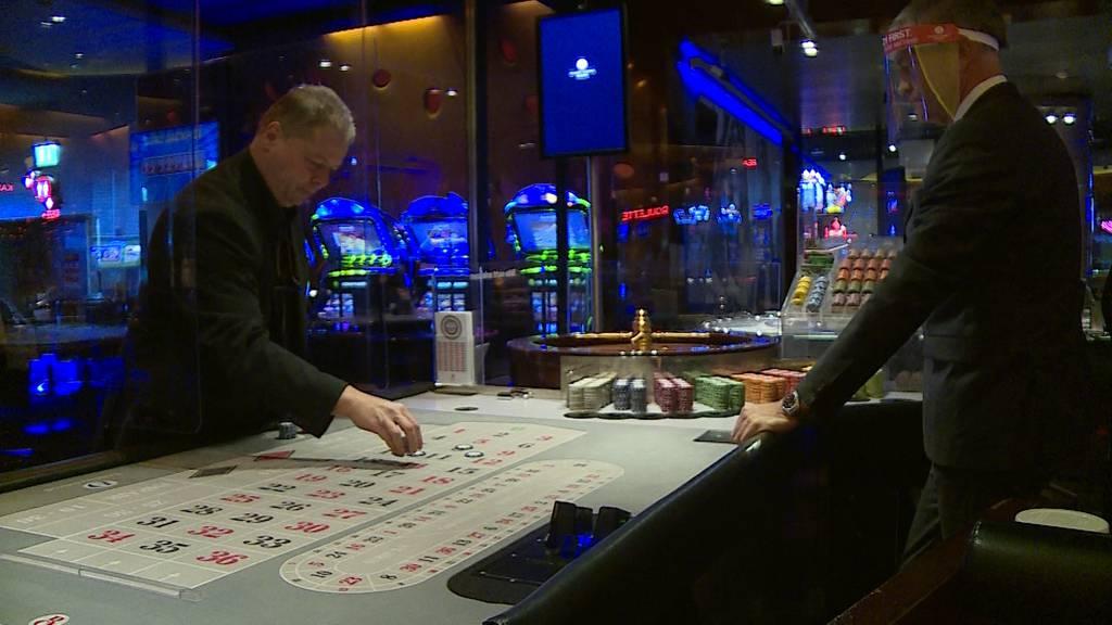Im Grand Casino Baden darf wieder gezockt werden
